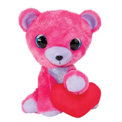 Lumo Stars teddybär Valentinstag 15 cm rosa