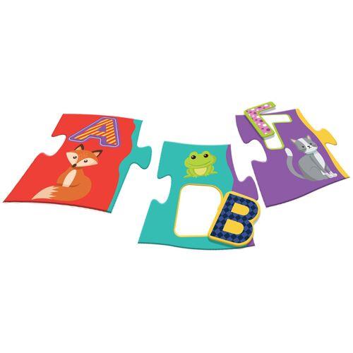 Luna puzzle alphabet junior puzzle alphabet junior karton 50 teile