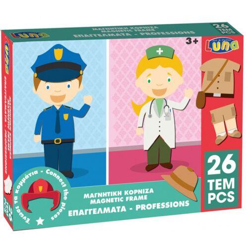 Luna puzzle puzzle professions junior 29 x 22 cm karton 26 teile