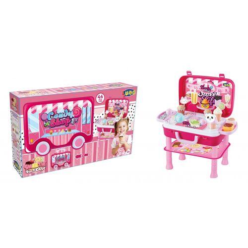 Luna shop Süßigkeiten und Eisschrank rosa 41 cm