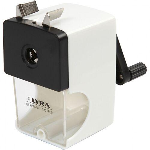 Lyra bleistiftspitzer weiß 1 Stück