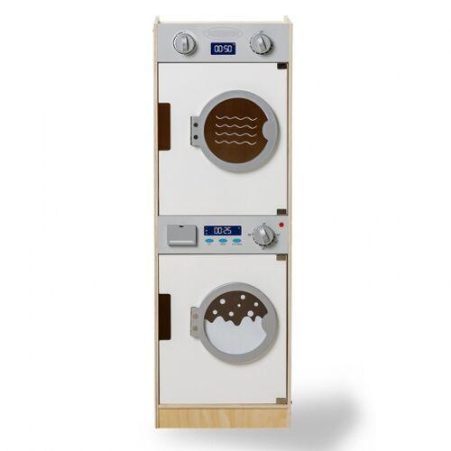 Mamamemo waschmaschine und Trockner Holz 86 cm