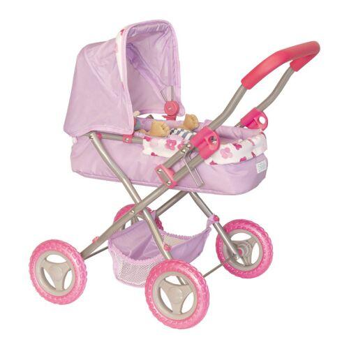 Manhattan Toy Buggy Baby Stella Mädchen 56 cm Textil rosa