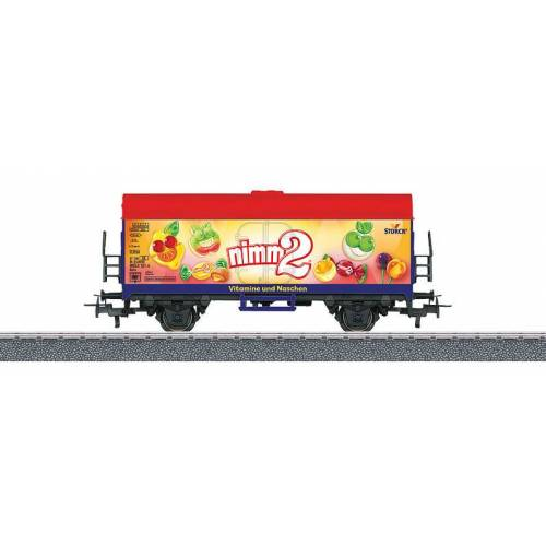 Marklin kühlwagen Nimm 2 digital 11,5 cm Stahl 1:87 rot