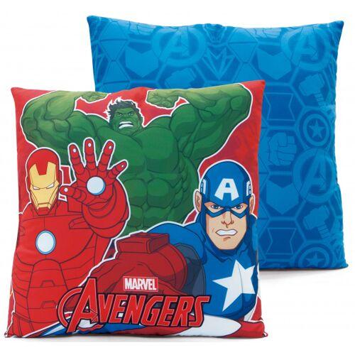 Marvel kissen Avengers junior 40 cm Stoff rot/blau