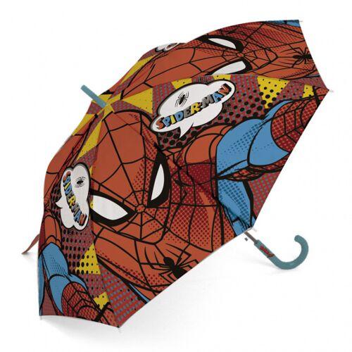 Marvel regenschirm Spiderman junior 48 cm blau