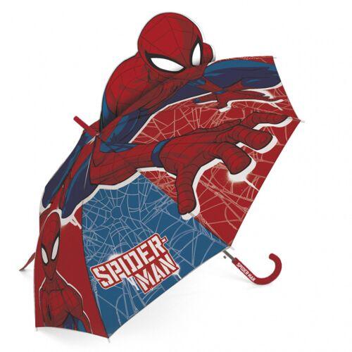 Marvel regenschirm Spiderman junior 69 cm rot/blau