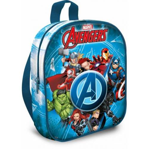 Marvel schulranzen The Avengers junior 31 x 25 cm Polyester blau