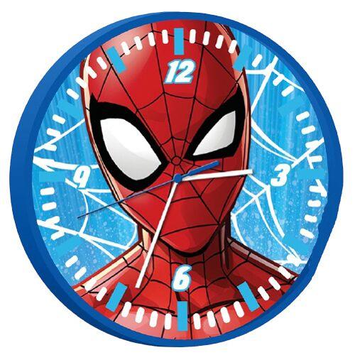 Marvel wanduhr Spider Man Jungen 25 cm rot/blau