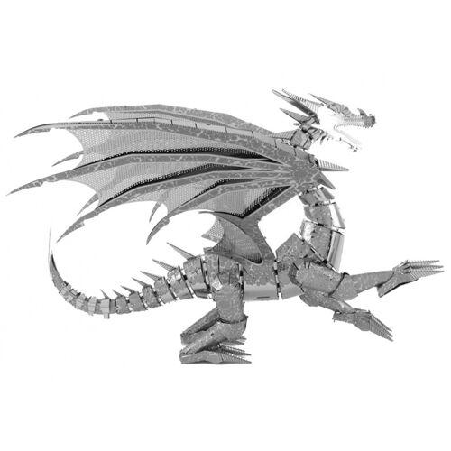 Metal Earth bausatz Silberdrache