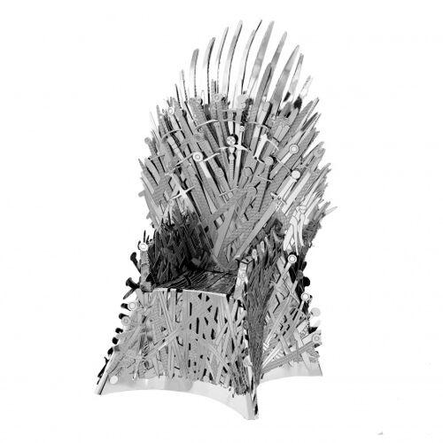 Metal Earth Game of Thrones: Eiserner Thron 11 cm