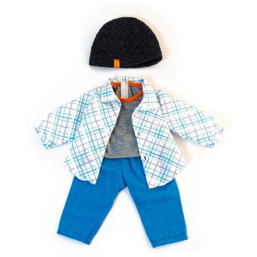 Miniland puppenkleidung Boy junior 38   40 cm blau 4 teilig