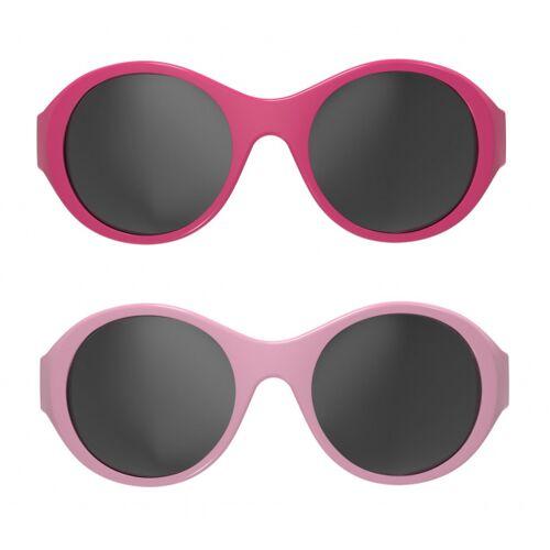 Mokki sonnenbrille Click & Change junior 0 2 Jahre rosa 2 Stk