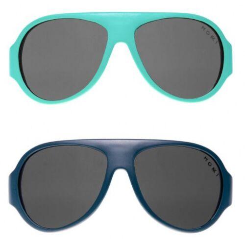 Mokki sonnenbrille Click & Change junior 2 5 Jahre blau 2 Stk