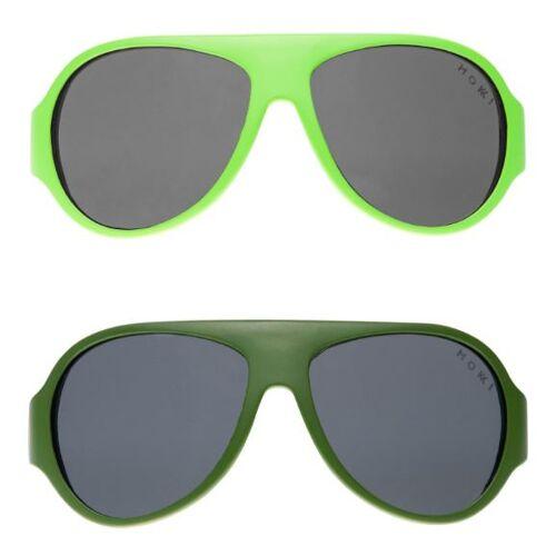 Mokki sonnenbrille Click & Change junior 2 5 Jahre grün 2 Stk