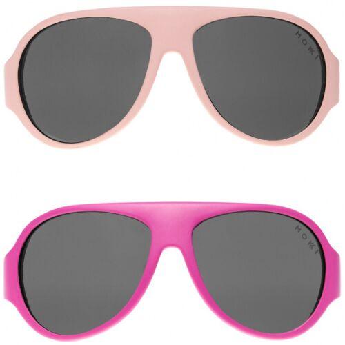 Mokki sonnenbrille Click & Change junior 2 5 Jahre rosa 2 Stk
