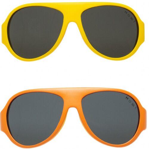 Mokki sonnenbrille Click & Change junior 2 5 Jahre gelb 2 Stk