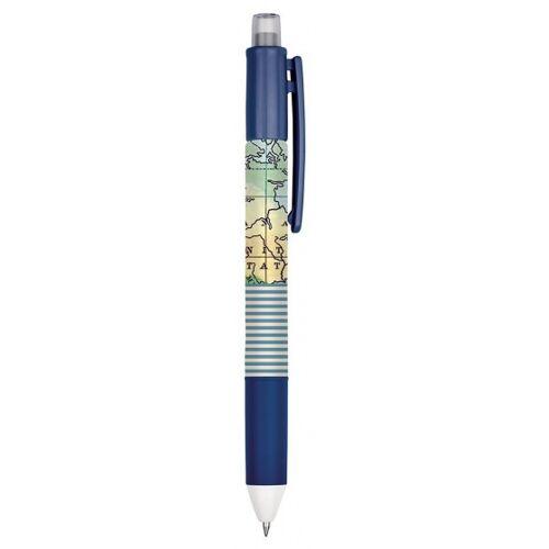 Moses kugelschreiber 4 in 1 Atlas 14 cm blau