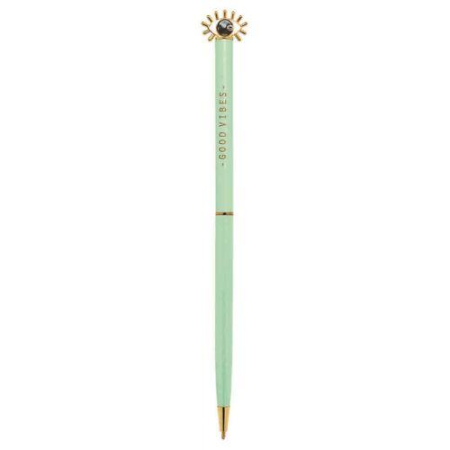 Moses kugelschreiber Omm For You 17 cm Stahl grün