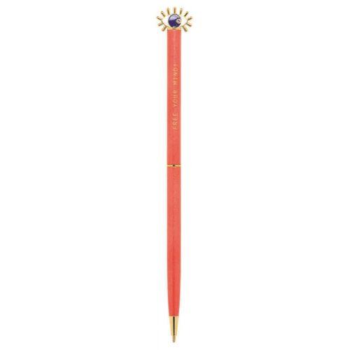 Moses kugelschreiber Omm For You 17 cm Stahl rot