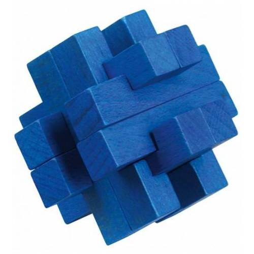 Moses Be clever! Sie Be clever! Holzpuzzle Smart blau 6cm
