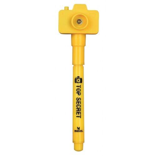 Moses geheimcode Stift mit Kamera 11 cm gelb