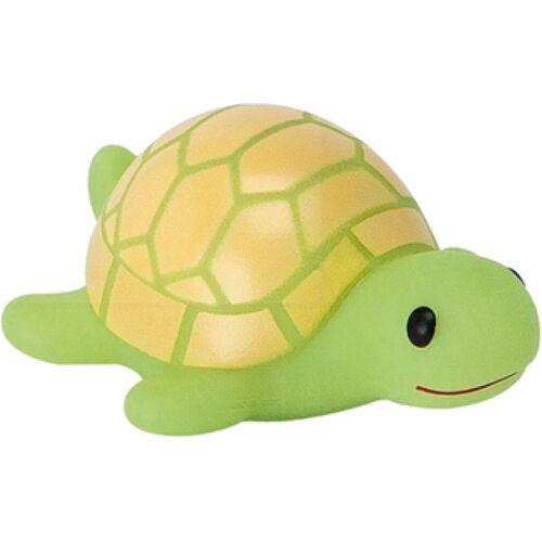 Moses Schildkröte Bad Tier Schildkröte grün / gelb