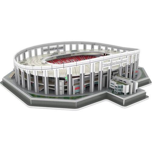 Nanostad 3D Puzzle Stuttgart Stadion grau 117 Teile