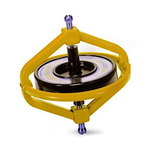 Navir gyroskop Wonder junior 7,5 cm Stahlgelb 2 teilig