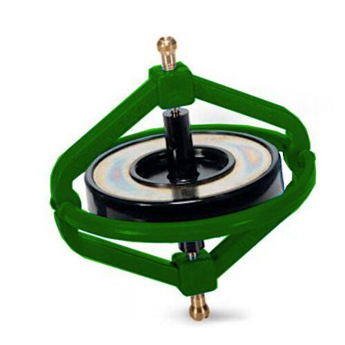 Navir gyroskop Wonder junior 7,5 cm Stahlgrün 2 teilig
