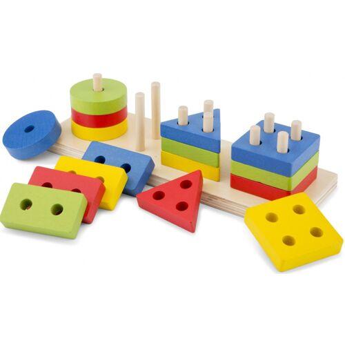 New Classic Toys puzzle Geometrisch junior holz 16 teile