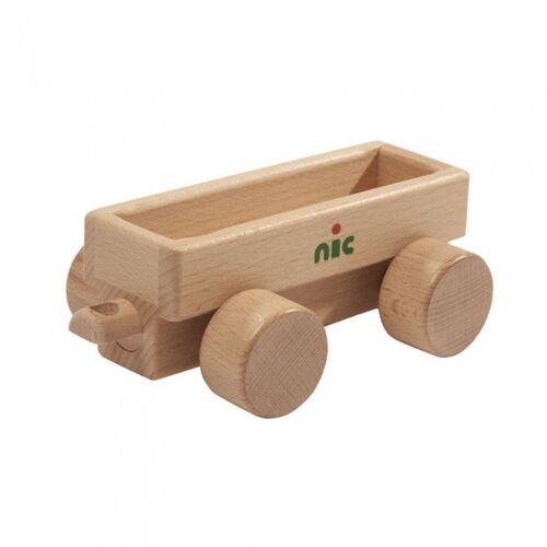 Nic anhänger ohne Fahrzeug 16 cm klares Holz