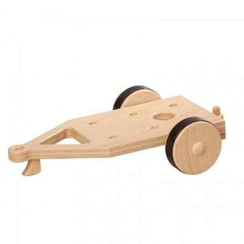 Nic anhänger ohne Fahrzeug 24 cm klares Holz