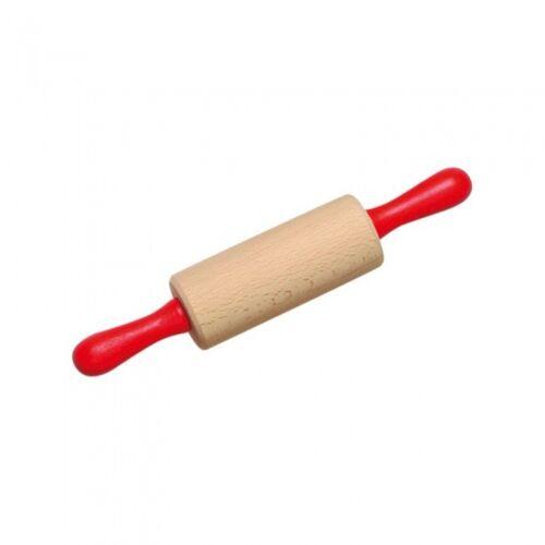 Nic nudelholz 21 x 4 cm rot/weißes Holz