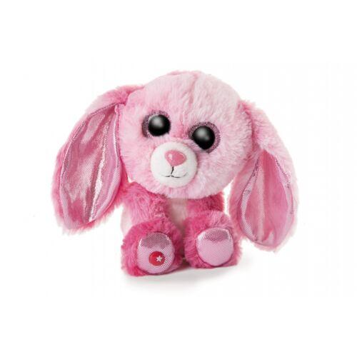 Nici stofftier Glubschis Kaninchen junior 15 cm Plüsch rosa