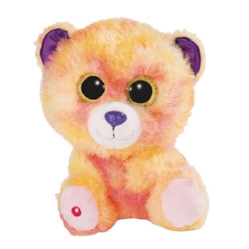 Nici teddybär Glubschis junior 25 cm plüsch orange/violett