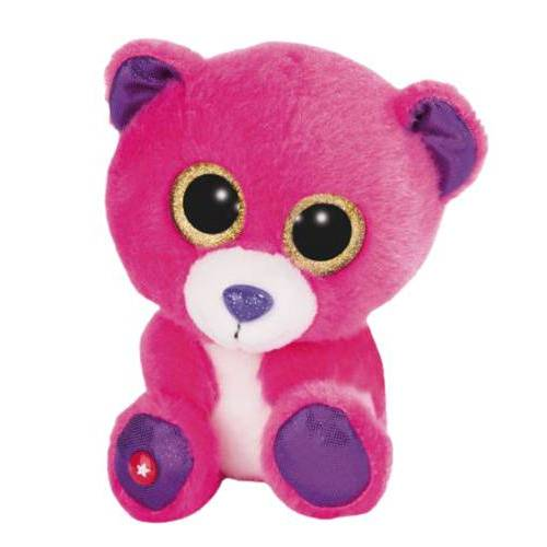 Nici teddybär Glubschis junior 15 cm plüsch rosa/lila