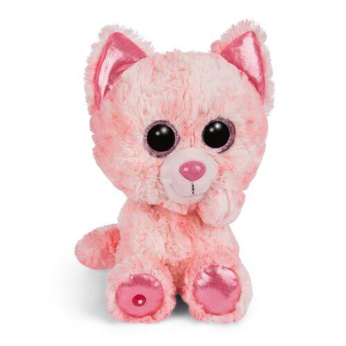 Nici stofftier Glubschis Katze junior 25 cm Plüsch rosa