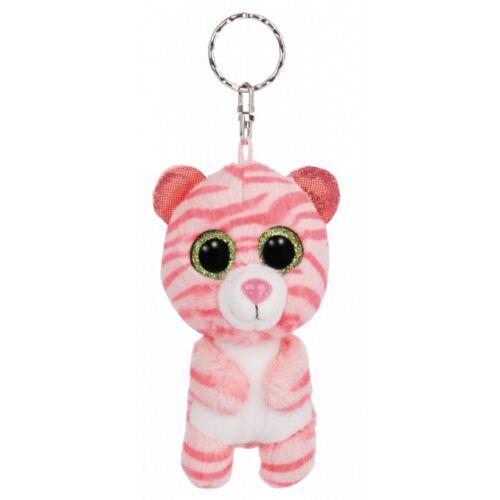 Nici schlüsselanhänger Glubschis tiger junior 9 cm plüsch rosa