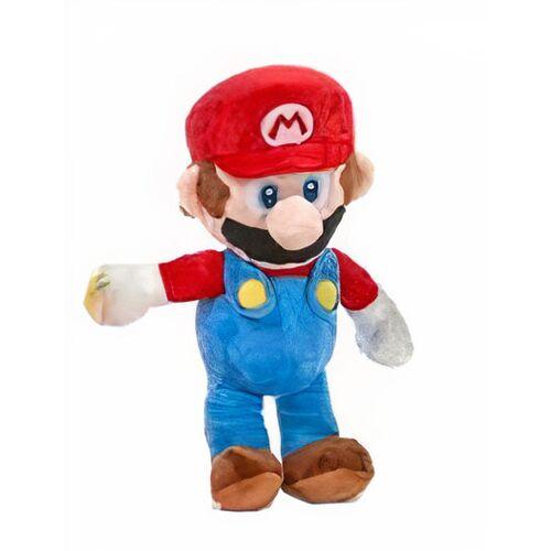 Nintendo stofftier Super Mario   Mario 26 cm Plüsch rot/blau