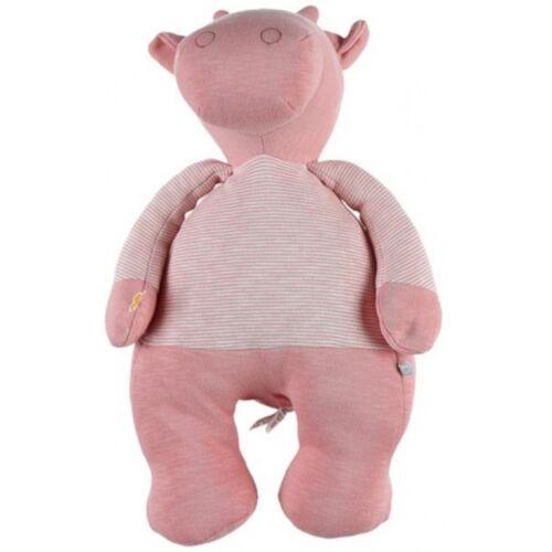 Noukie stofftier Lola 15 x 21 x 46 cm Baumwolle rosa