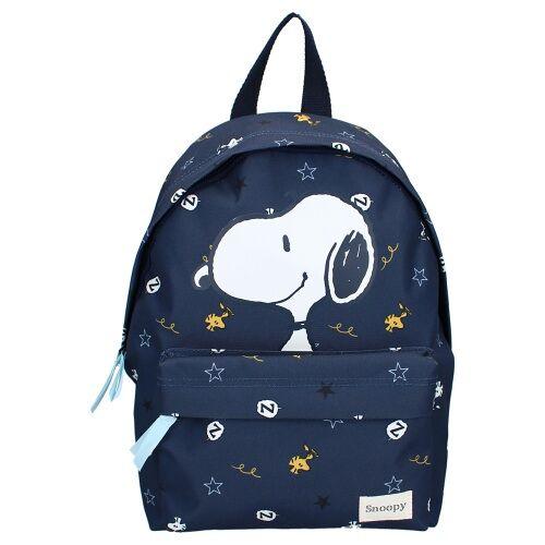 Peanuts rucksack Snoopy junior Polyester navy 6 Liter