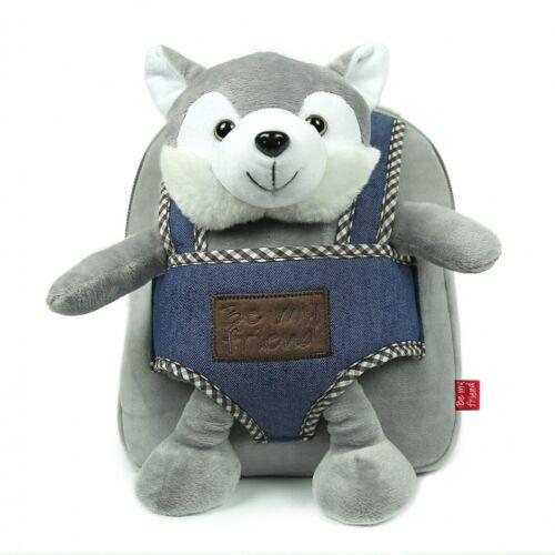 Perletti rucksack Husky 2,7 Liter 26 cm Polyester grau