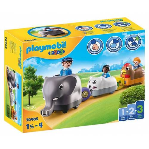 Playmobil 1,2,3   Zoo (70405)