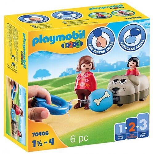 Playmobil 1,2,3   Hundezug (70406)