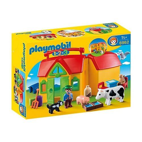 Playmobil 1, 2, 3: Take away Nutztiere (6962)