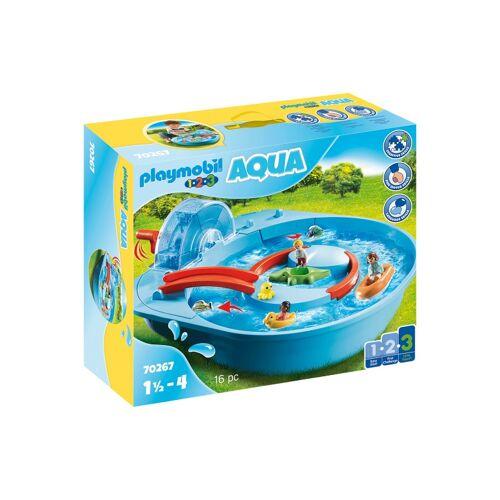 Playmobil 1, 2, 3   Fröhlicher Wasserlauf (70267)