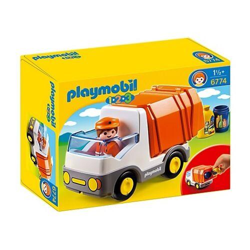 Playmobil 1, 2, 3: Müllwagen (6774)