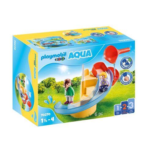 Playmobil 1, 2, 3   Wasserrutsche (70270)