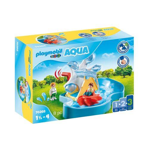Playmobil 1, 2, 3   Wasserrad mit Karussell (70268)